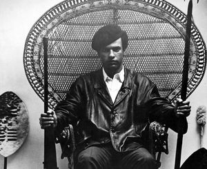 Huey P. Newton, co-founder of the Black Panther Party