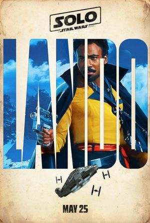 First look at Donald Glover as Lando Calrissian.