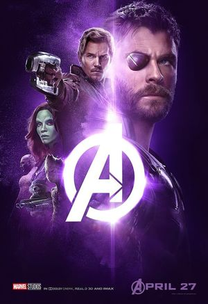 The Power Stone -  Thor, Star-Lord, Gamora, (teenage) Groot,