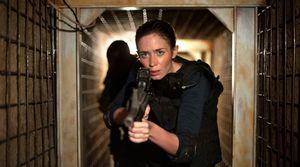 Emily Blunt as Kate Macer - 'Sicario' tunnel scene