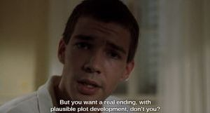 Breaking the fourth wall in Funny Games