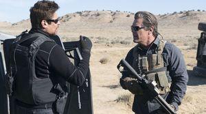 Benicio del Toro and Josh Brolin