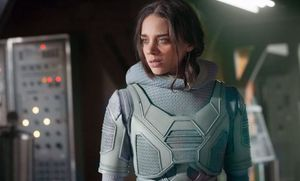 Ghost played by Hannah John-Kamen