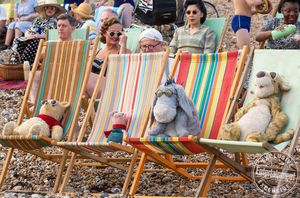'Christopher Robin' Characters on the Beach