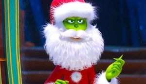 Benedict Cumberbatch as the voice of The Grinch