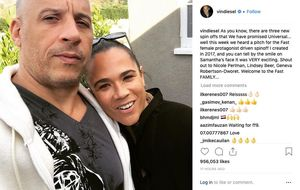 Courtesy @vindiesel Instagram