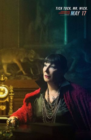Anjelica Huston as The Director • Lionsgate/IGN