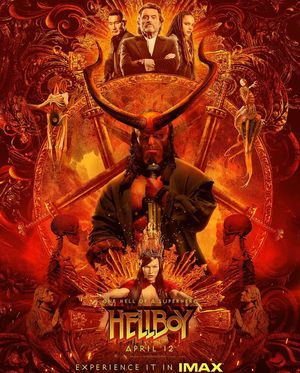 IMAX has released a new poster in celebration of #HellboyDay