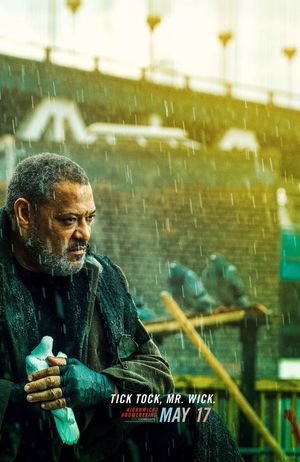 Laurence Fishburne as The Bowery King • Lionsgate/IGN