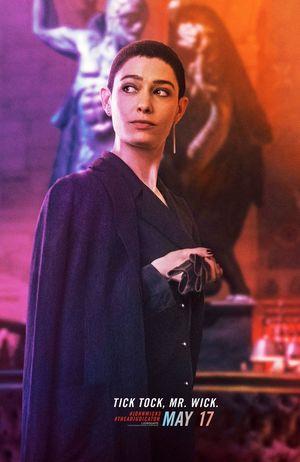Asia Kate Dillon as The Adjudicator • Lionsgate/IGN