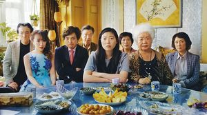 Awkwafina and the cast of 'The Farewell'