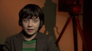 Asa Butterfield talks about Hugo Cabret and his automaton