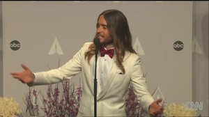 Jared Leto interview after winning Best Supporting Actor