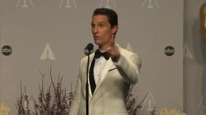 Matthew McConaughey interview after winning Best Actor