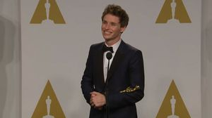 Eddie Redmayne on Best Actor Win For The Theory of Everythin…