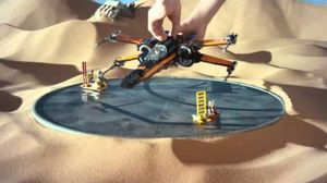 Hear BB-8 come by in 'Star Wars: The Force Awakens' Lego Spo