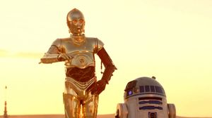 Our favourite old droids meet our favourite new one in the l…