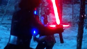 Watch the evolution of the lightsaber in New The Force Awake…