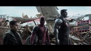 Deadpool 'Superhero Landing' Official Clip