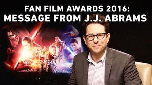 J.J. Abrams Announces Star Wars Fan Film Awards for 2016