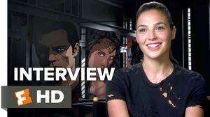 Batman v Superman - Gal Gadot Interview