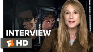 Batman v Superman - Holly Hunter Interview