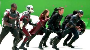 Captain America: Civil War Behind The Scenes Footage