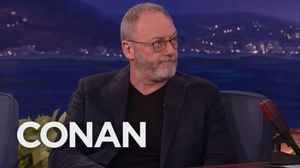 Hilarious interview between Liam Cunningham and Conan ends w…