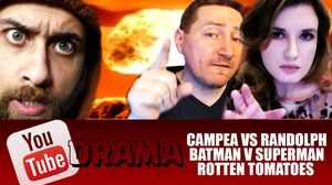 YouTube Drama John Campea Rants Vs Grace Randolph Batman V Superman Rotten Tomatoes