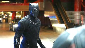Captain America: Civil War Clip features Black Pantha in act…