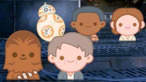 Star Wars: The Force Awakens As Told By Emoji Disney