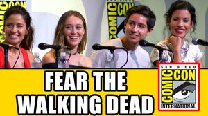 Watch; Highlights from the 'Fear the Walking Dead' Panel at