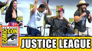 The Justice League Assembles at Comic-Con. See the Panel her…