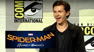Check out the Spider-Man; Homecoming panel from Hall H at SD…