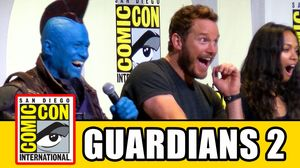 The Cast of Guardians of the Galaxy 2 take to the stage at S…