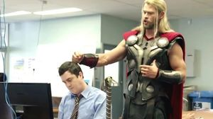 What was 'Team Thor' up to during Captain America: Civil War