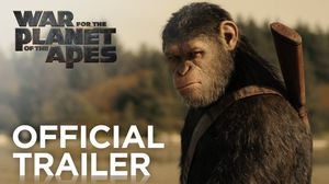 'War For The Planet of The Apes' Official Trailer. In theate…