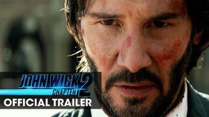 "John Wick: Chapter 2 Trailer – ""Wick Goes Off"""