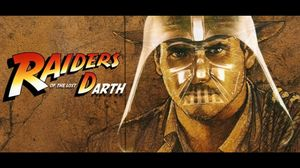 """Raiders of the lost Darth"". Mashup Indiana Jones/Star Wars!"