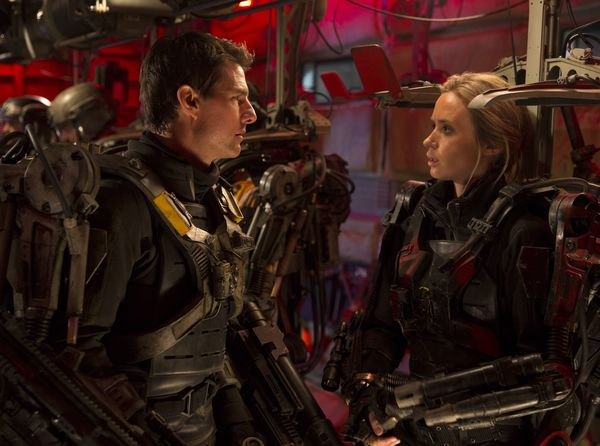 'EDGE OF TOMORROW' Sequel In Development; Cruise and Blunt Expected To Return