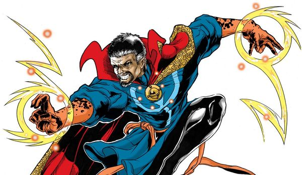 Marvel Rejected Early Doctor Strange Vision from Neil Gaiman and Guillermo Del Toro