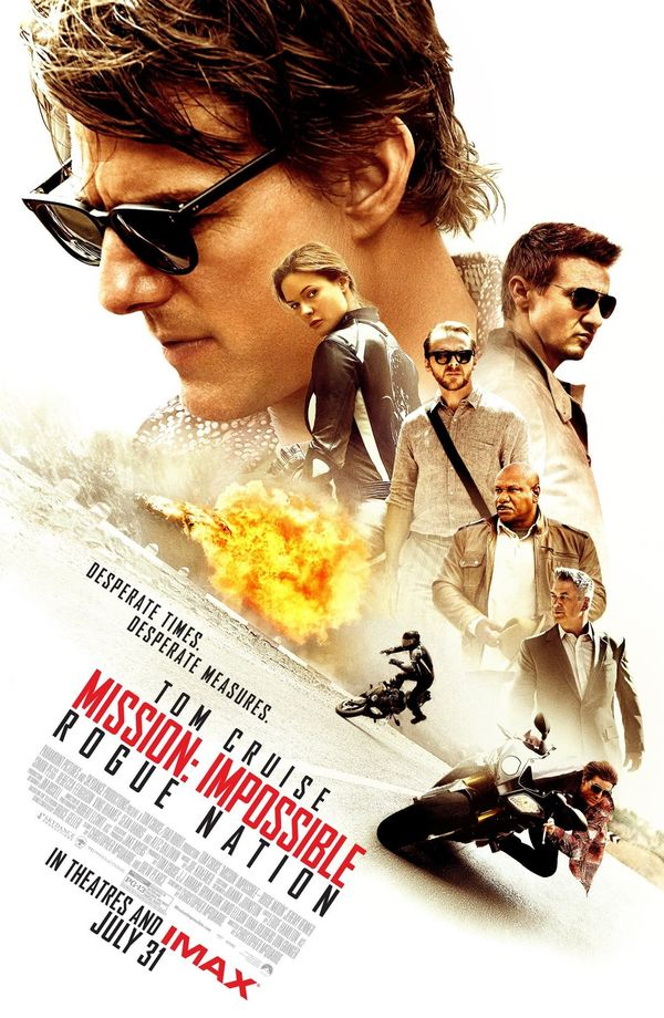 REVIEW: Mission Impossible - Rogue Nation
