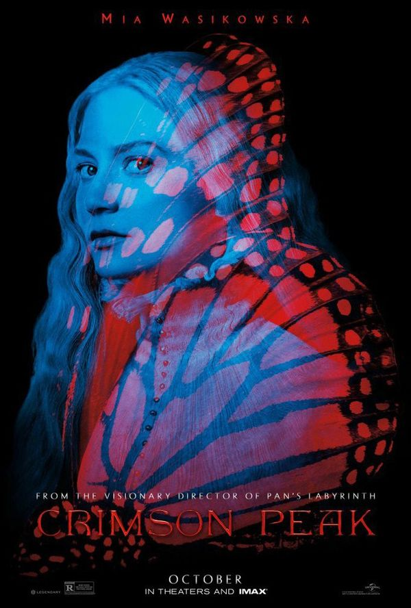 Comic-Con Posters for Guillermo del Toro's Crimson Peak