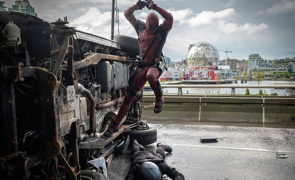 First Look at Deadpool