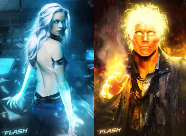 Fire and Ice: The Flash's Power Couple