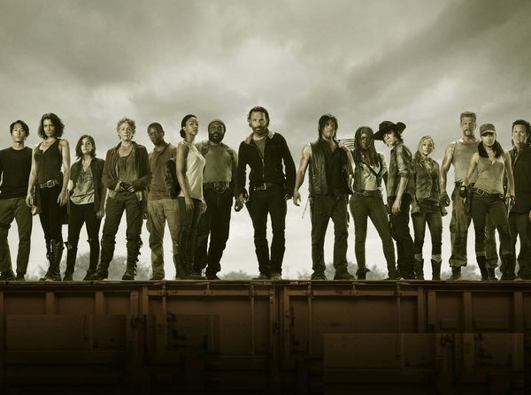 Then and Now With the Cast of The Walking Dead