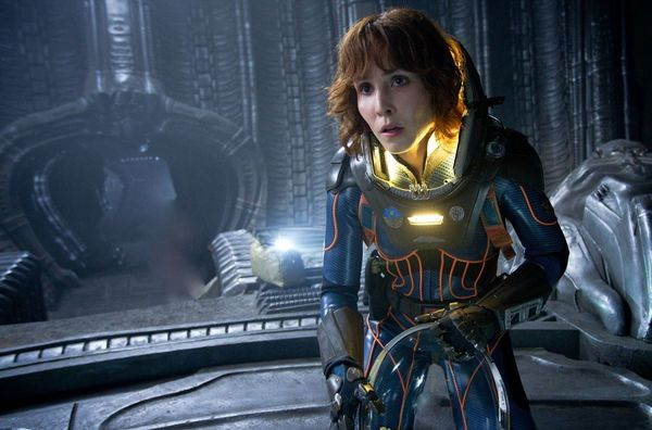 Noomi Rapace will Reprise her Role from 'Prometheus' in 'Alien: Covenant'