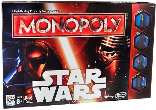 Hasbro Responds to Online Backlash Due to Rey Being Excluded from Monopoly Set