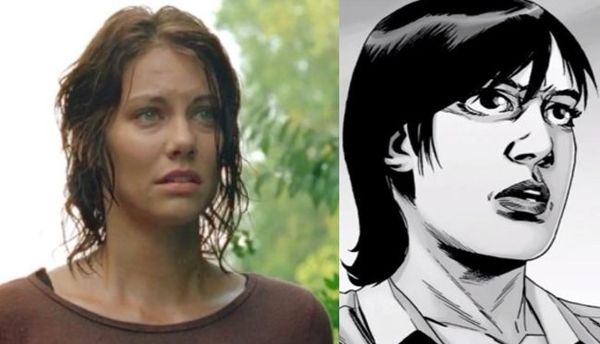 "The Walking Dead's Lauren Cohan Describes New Haircut as ""Top Secret"""