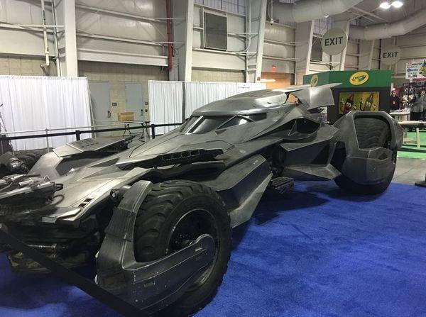 Tour of the Batmobile